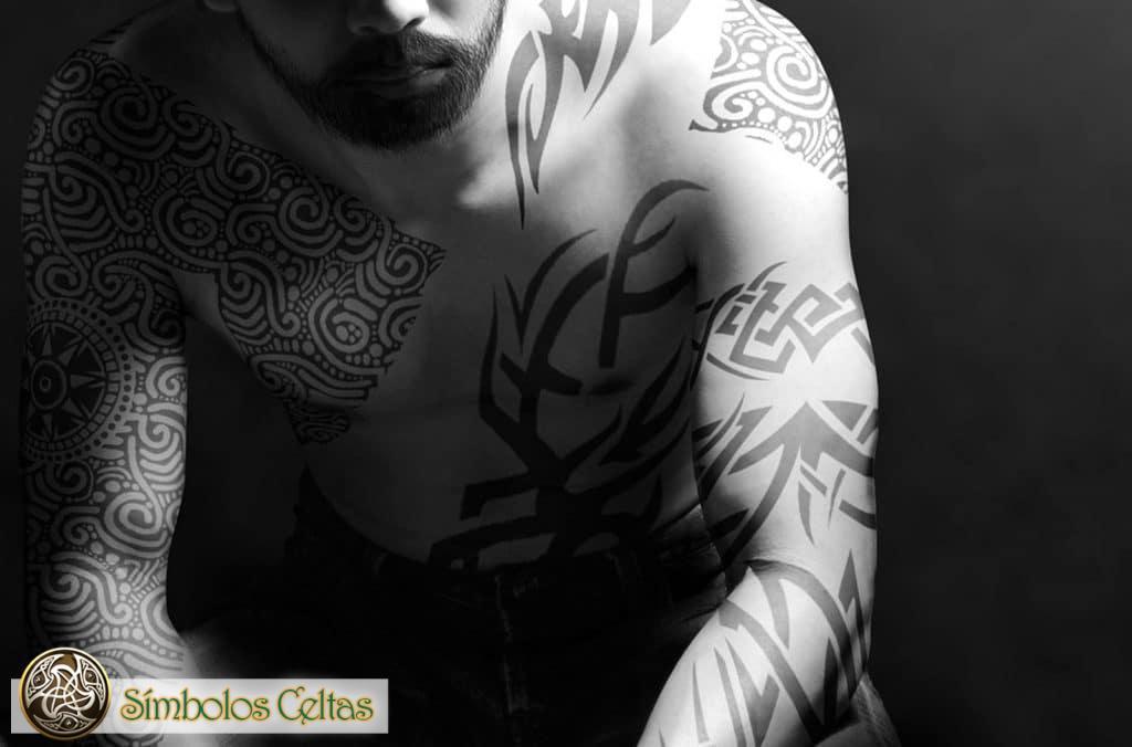 Historia del tatuaje celta