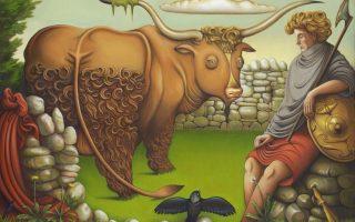 Dios celta Cu Chulainn