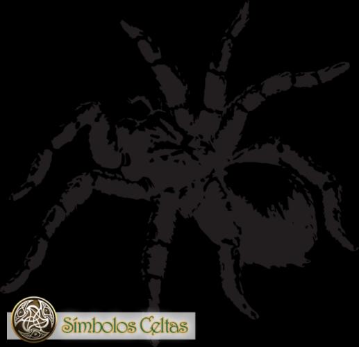 tatuaje de Araña