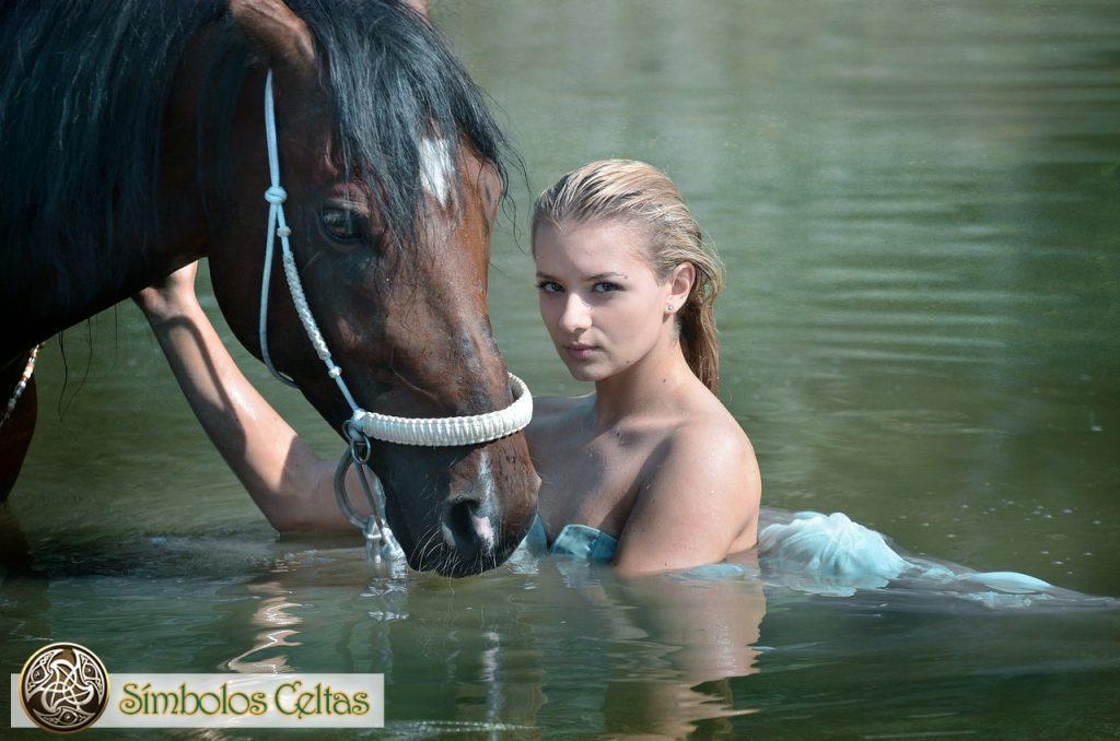 Rhiannon (Epona) y el caballo