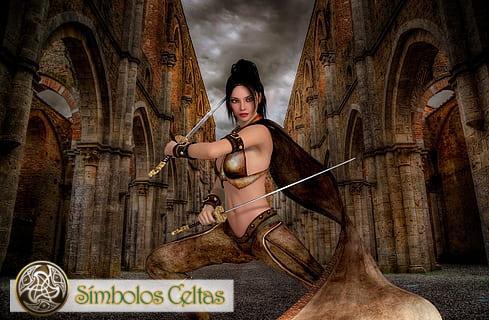 Diosa de la guerra Badb