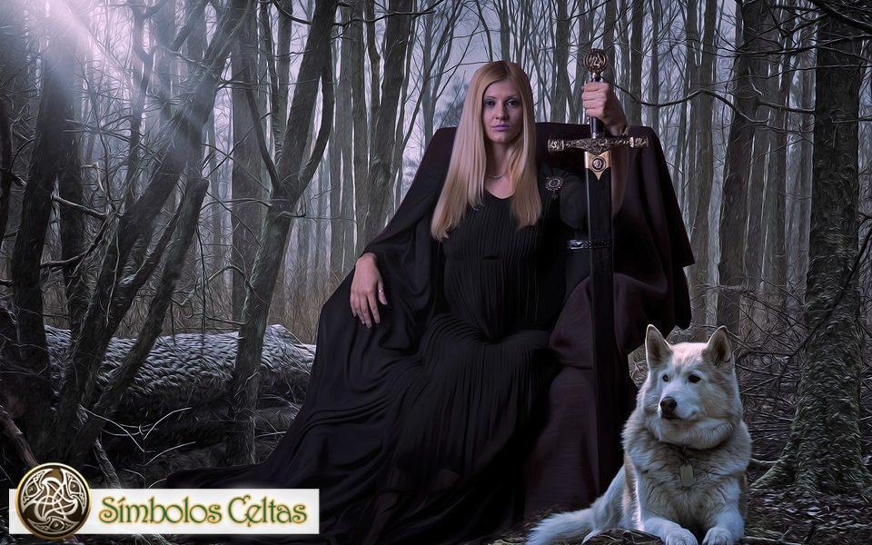 Diosa Medb, Reina de Connacht
