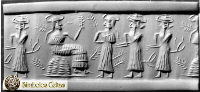 diosa mesopotámica Ninhursag