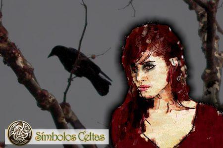 "Diosa Morrígan o ""Reina Fantasma"