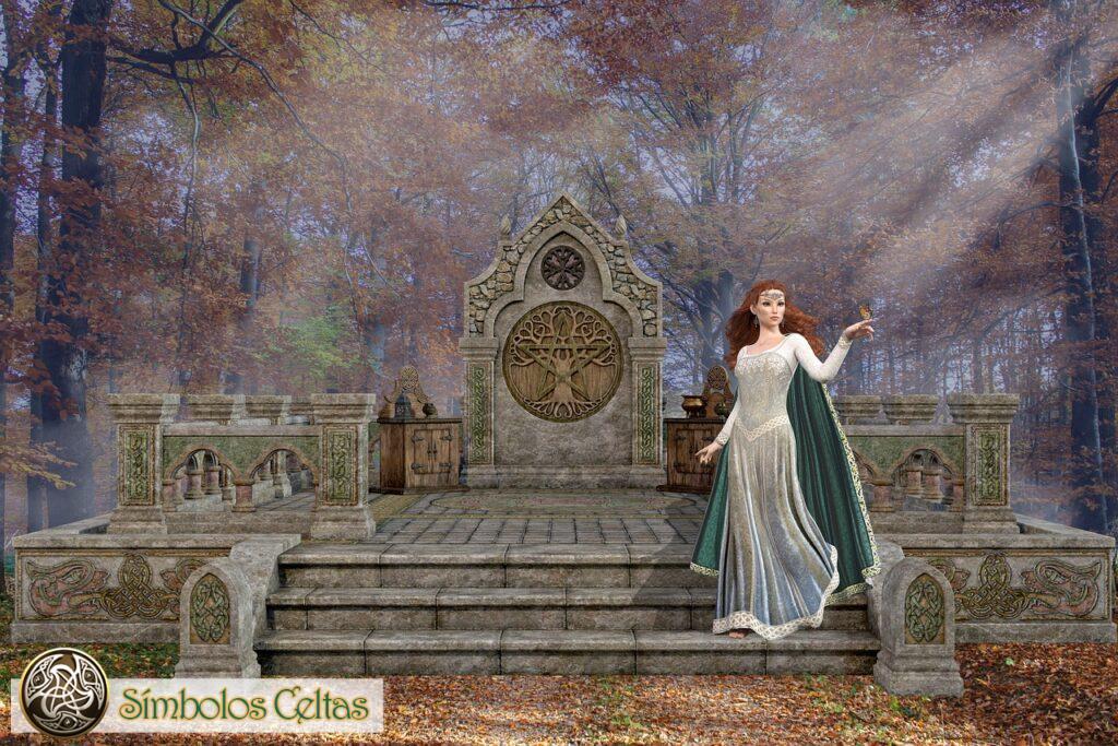 Panteon de los Dioses irlandeses, galeses y británicos