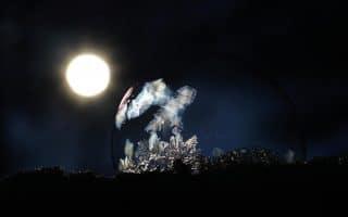 Estrella y media luna postclásica