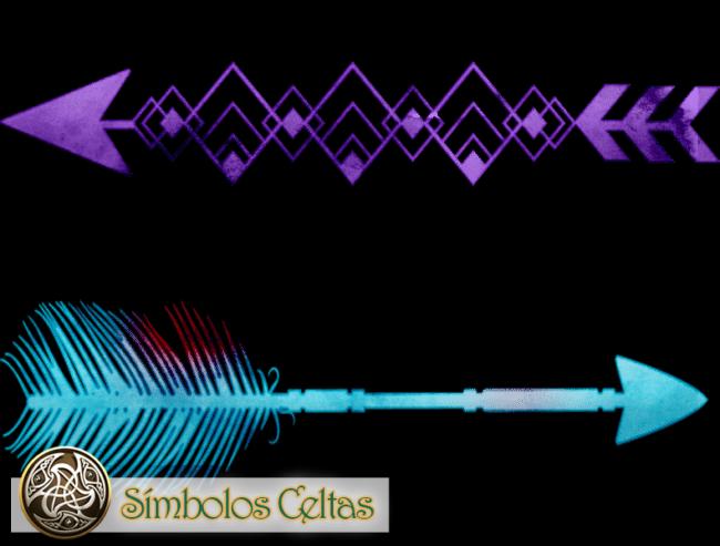 Flecha de los nativos americanos