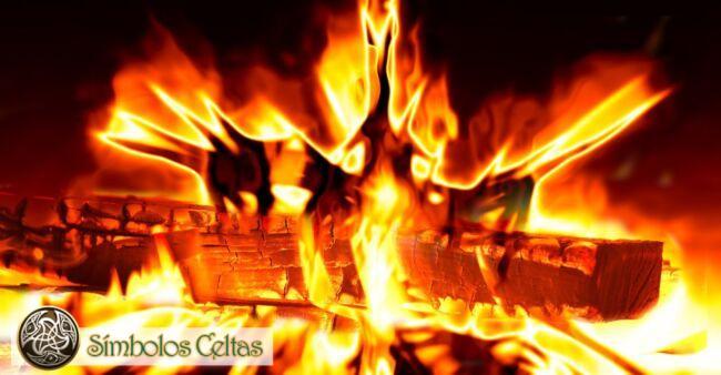 El símbolo alquímico del Fuego
