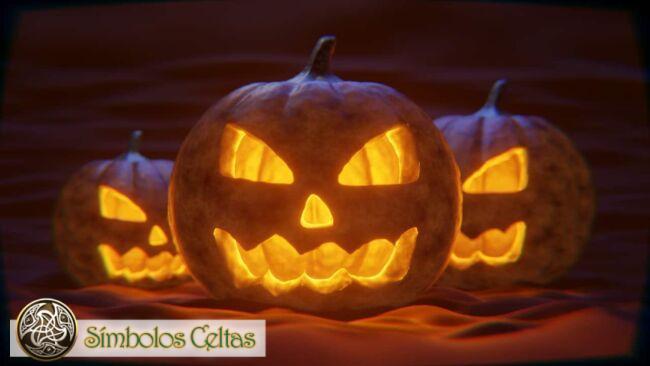 Símbolo de Halloween Jack O'Lantern (calabaza)