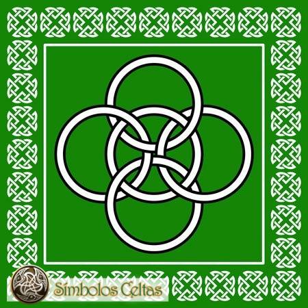 Los cinco significados celtas del símbolo de los cinco puntos