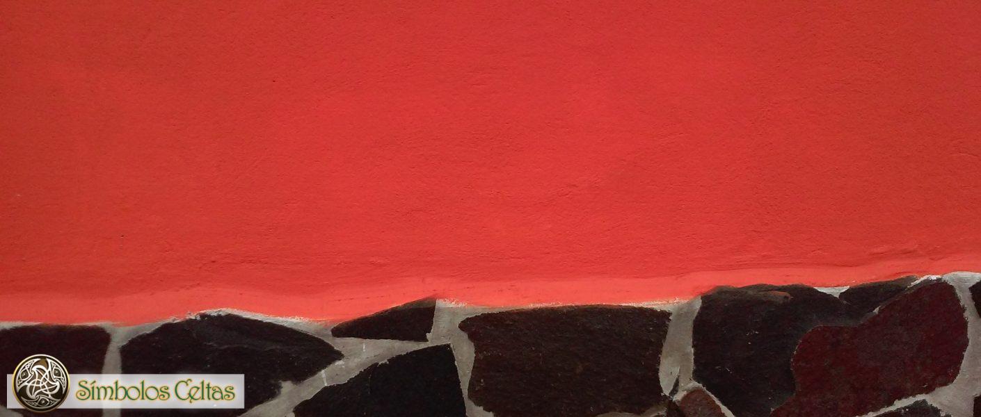 Los colores negro y rojo