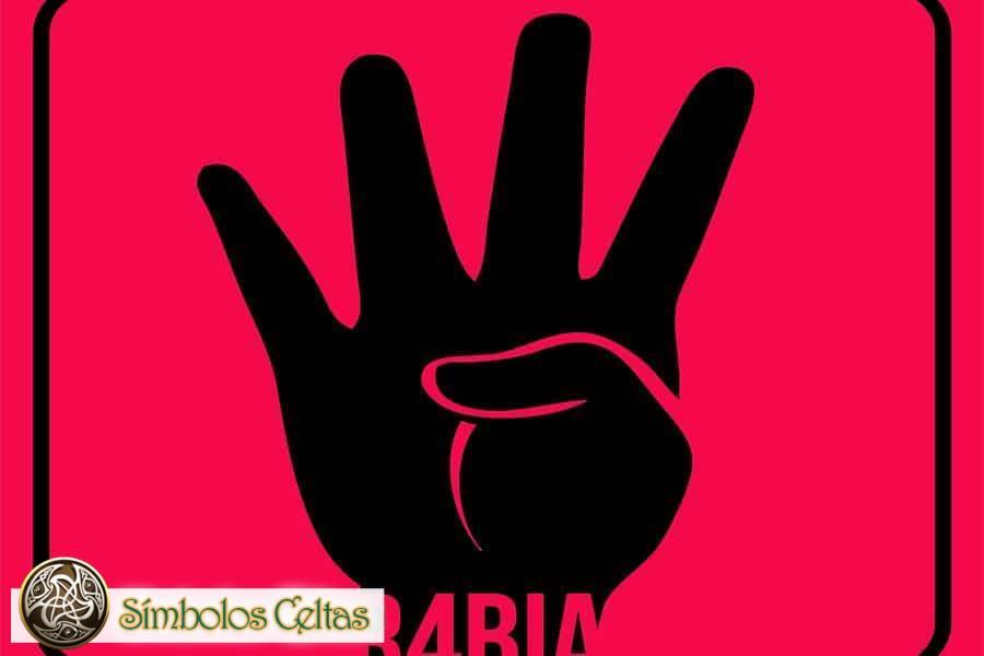 El signo de Rabi'a (4 jari)