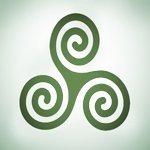 Símbolo de Triple Espiral (Triskele)