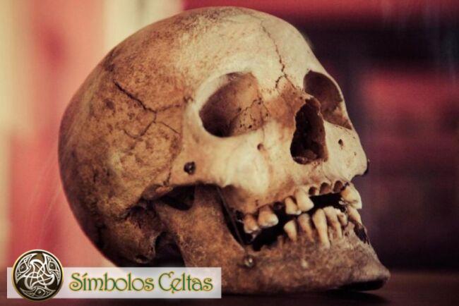 Simbolismo del cráneo celta