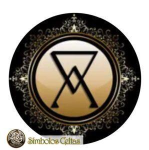 Símbolo del arsénico en alquimia