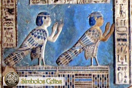Símbolo egipcio Ba