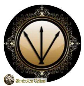 Simbolo alquimico de la plata
