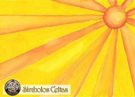 Símbolo del Sol de Siete Rayos
