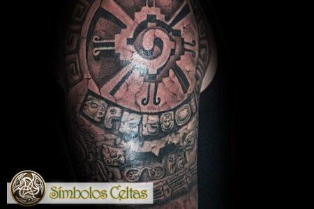 Tatuaje Hunab Ku Maya